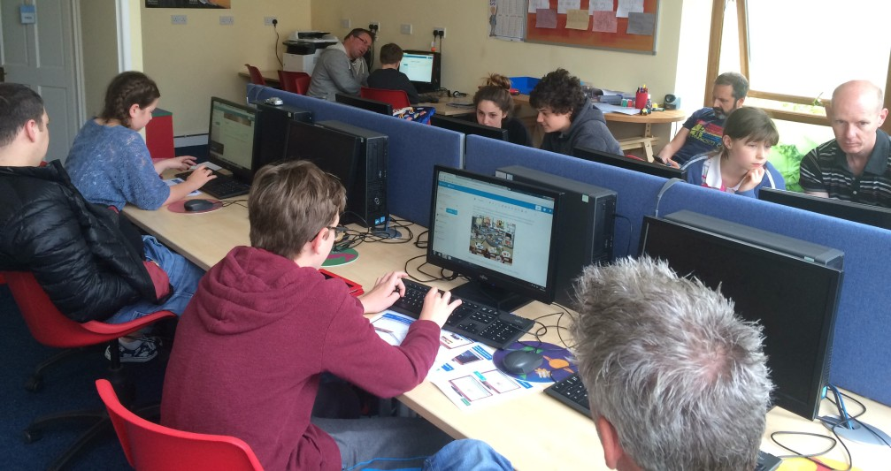 power learners wordpress blogging families digital 3D Robots